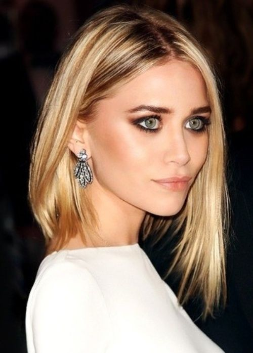 50 Best Blonde Hair Color Ideas for 2014 | herinterest.com - pinning this because I like the long angle