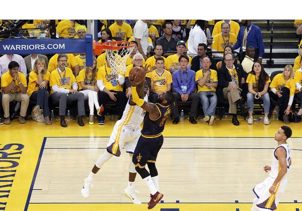 Cleveland Cavaliers Beat Golden State Warriors In Game 2 Of 2015 NBAFinals