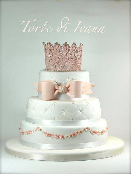 PRINCESS CAKE - by tortediivana @ CakesDecor.com - cake decorating website