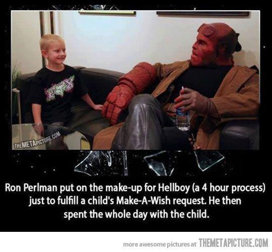 Heck yeah Ron Perlman!