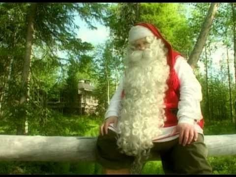 Santa Claus Summer in Lapland in Finland (Rovaniemi) - Father Christmas - Joulupukki  What does Santa do in the summer...