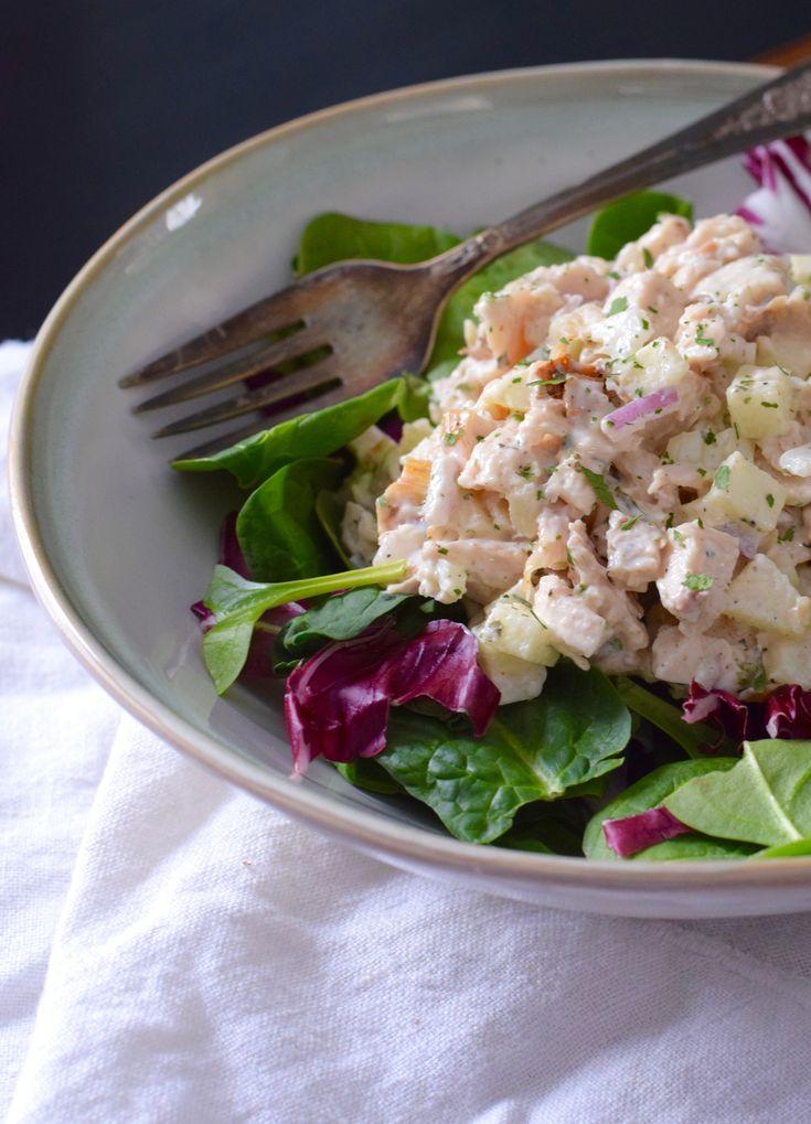 Sweet Apple Chicken Salad Recipe