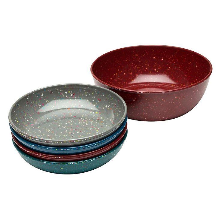 Zak Designs Confetti 5-pc. Pasta Bowl Set, Multicolor