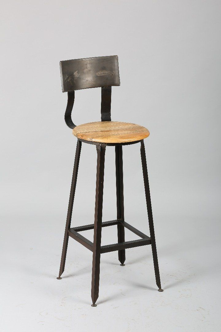 1000 id es sur le th me tabouret de bar industriel sur for Chaise de bar en fer forge