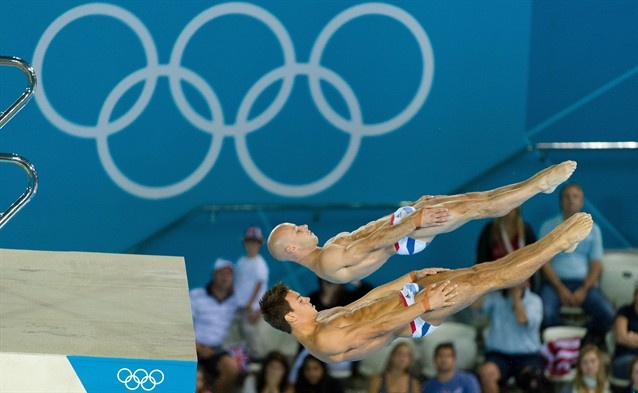 Men's Synchro Platform - Diving: Fantastic shot of the Great Britain duo.   # Pinterest++ for iPad #