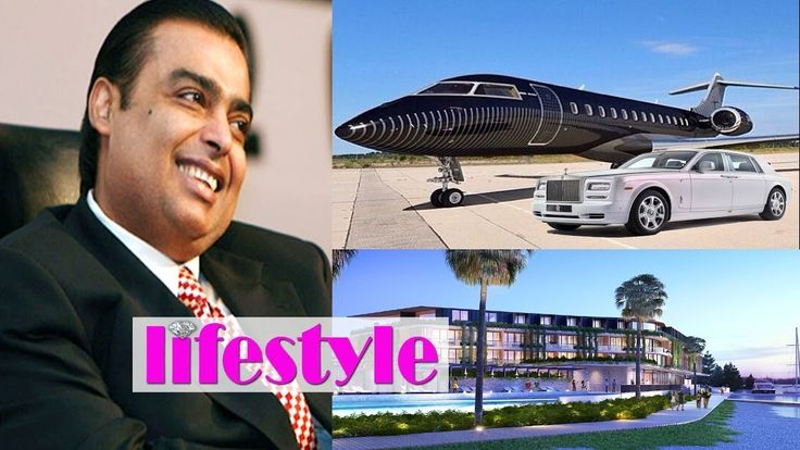 mukesh ambani luxurious lifestyle and Earnings .  Chairman of second largest company in India Reliance Industries Limited (RIL)   RIL with revenue of US$44 billion (Rs 2,69,000 Crores) in 2016 is the 2nd biggest company in India after the government-controlled Indian Oil Corporation   Mukesh ambani net worth : $31.1 Billion USD (2017)  House - Antilia Most Expensive home in the World.