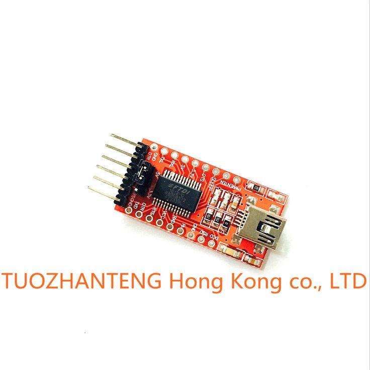 Free shipping FT232RL FT232 FTDI USB 3.3V 5.5V to TTL Serial Adapter Module Mini Port