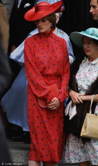 Diana with Princess Margaret June 4, 1981: Lady Diana Spencer was a guest at the wedding of hon. Nicholas Soames to the Hon. Catherine Weatherall.