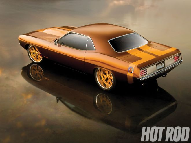 Chip Foose's Terracuda, which is a 1970 Plymouth Barracuda built by Foose Design