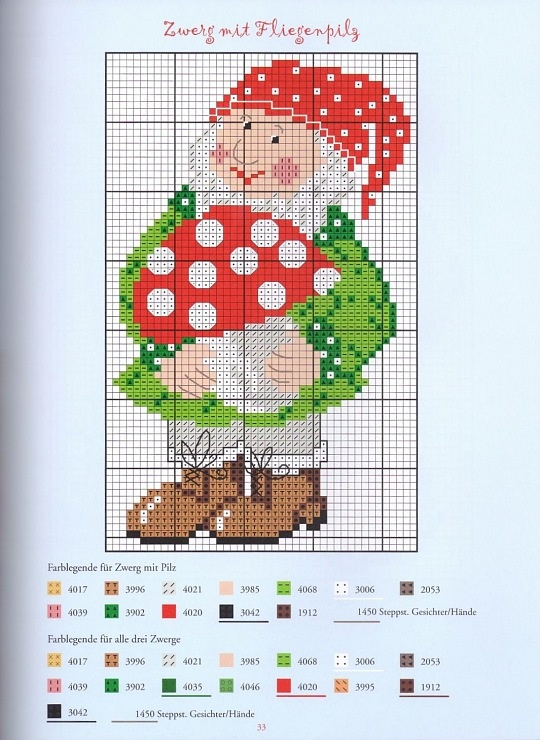 44 Best Images About X Stitch Gnomes On Pinterest