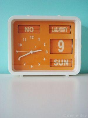 une horloge retro #LiveboxPlay
