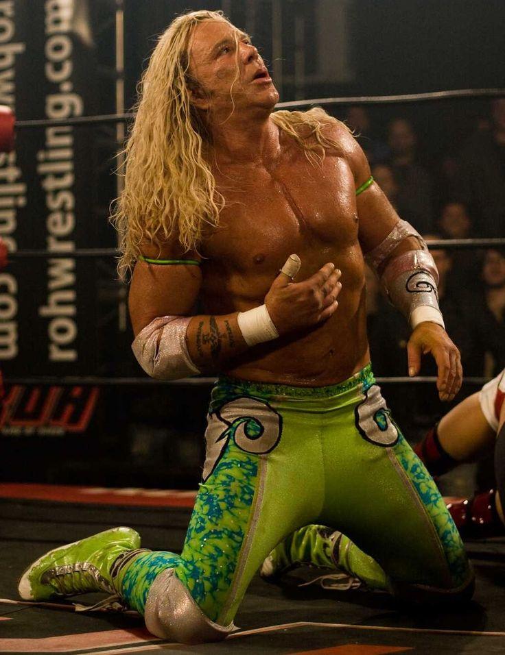 The wrestler. Great movie!