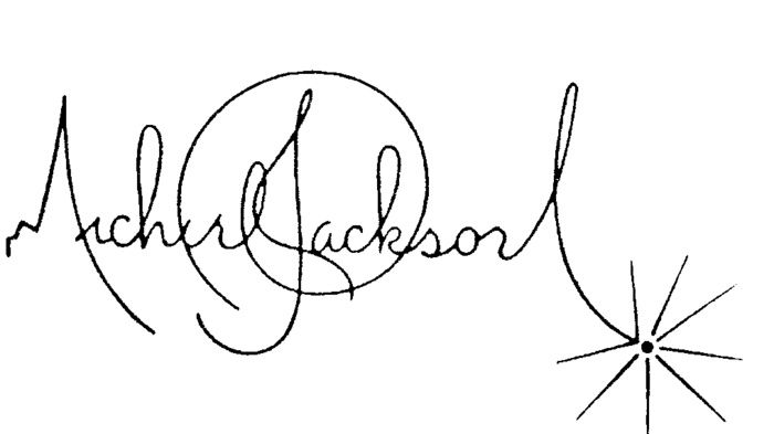 Michael Jackson's signature. Beautiful. Getting this tatted on me