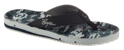 Cobian Boyce Draino Thong Sandals for Men - Ocean Camo - 13 M