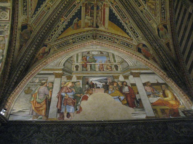 Фрески Баптистерия в Сиене.