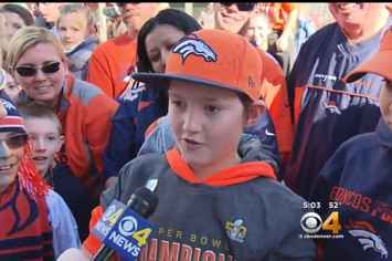 Thousands Of Broncos Fans Skipped School To Celebrate Their Super Bowl Win