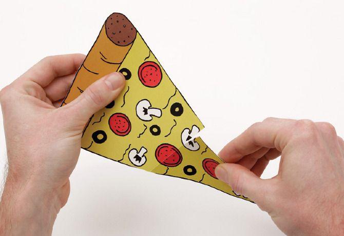 Conceptual pizza voucher for Dimitri's Pizzeria, Crown St, Sydney.