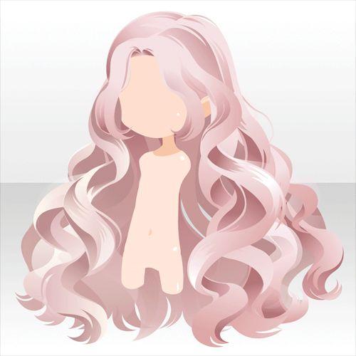 ヘアスタイル エレガントパフュームロングAピンク - 321 Best Drawing Hair (+styles) Images On Pinterest