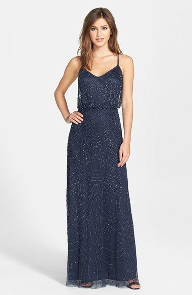 Mismatched Navy Blue Bridesmaid Dresses   Dress for the Wedding