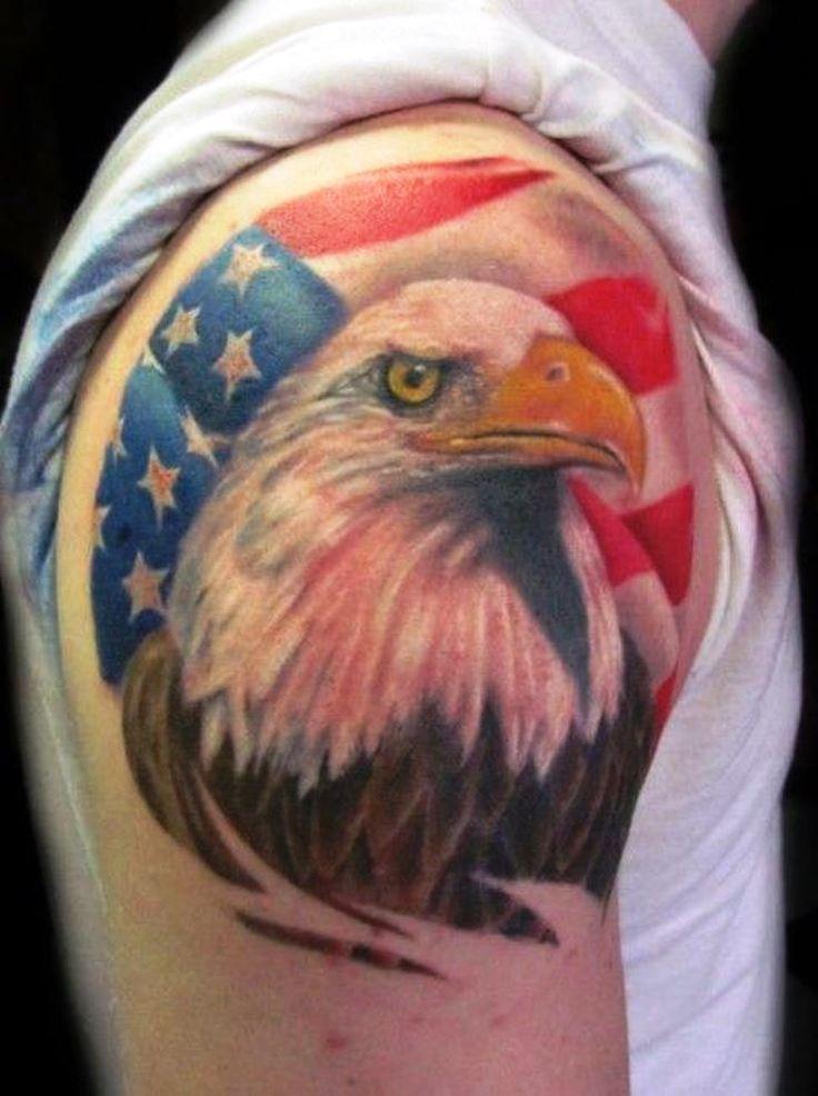 Bald Eagle Tattoo | eagle tattoos | Pinterest | Bald eagle ...