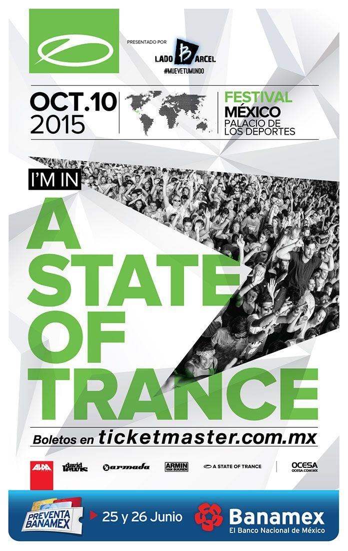 A State Of Trance, 10 de octubre, Palacio de los Deportes #ASOTFestMex