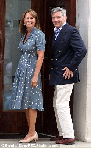 Carole Middleton and Michael Middleton