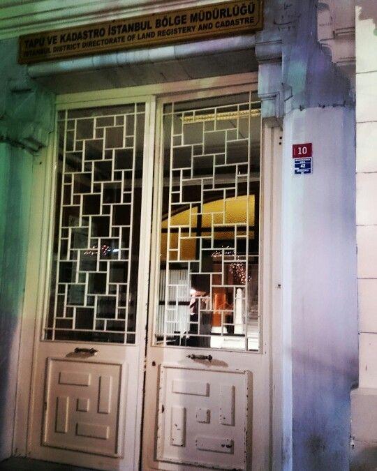 İstanbul Tapu ve Kadastro Müdürlüğü, Sultanahmet İstanbul Türkiye