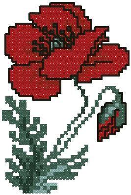 Machine Embroidery Cross Stitch Design