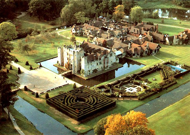 Hever Castle ~ Kent, England ~ Childhood home of Anne Boleyn ~ where she first met King Henry VIII