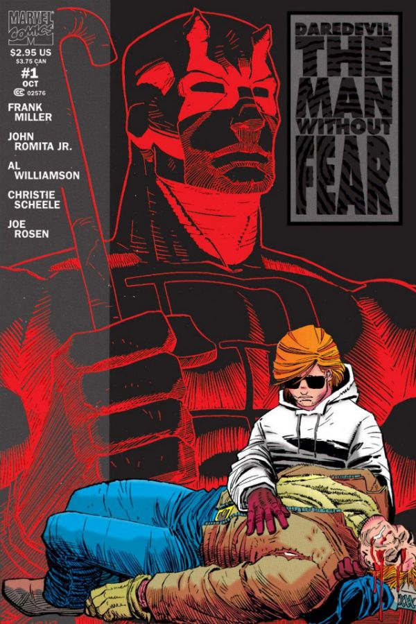 Daredevil: The Man Without Fear - Frank Miller and John Romita Jr. none of the movie attempts did better than this.