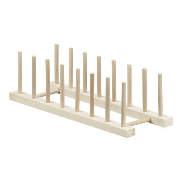 diy plate rack tablet charging station 15 quot wooden plate