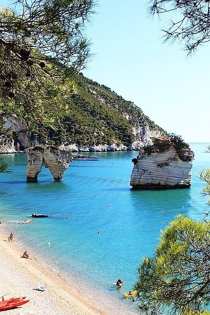 Turquoise Sea, Puglia, Italy. Our article on 19 of the best European beaches: http://www.europealacarte.co.uk/blog/2011/03/28/best-beaches-europ