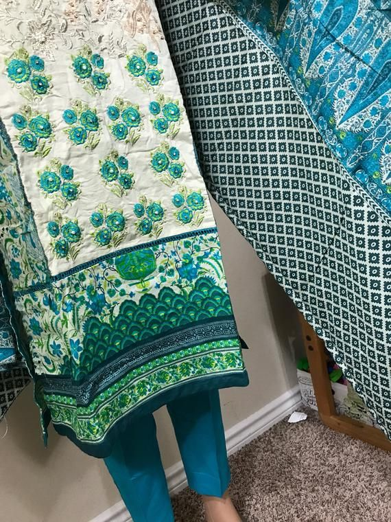 429d41b813 RESERVED small for Sumaria!! Bin Saeed Lawn Three Piece suit with ...