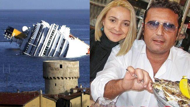 Domnica Cemortan says she didn't distract Captain Francesco Schettino