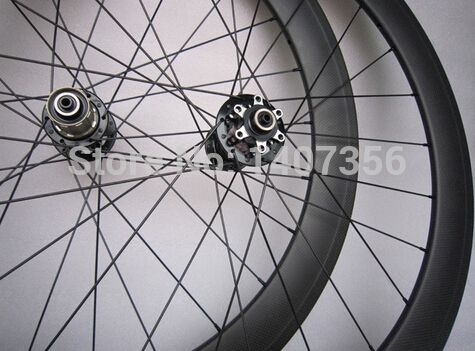 389.50$  Buy here - http://ali9a9.worldwells.pw/go.php?t=32321264969 - 700C chinese cheap price carbon cyclocross bicycle wheelset 50mm disc bike wheels 24/28/32holes for sale