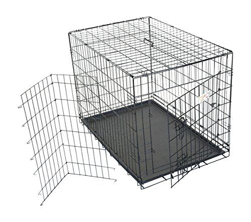 36 inch Single Door Folding Dog Crate By Majestic Pet Products Medium For Sale https://dogcratereview.info/36-inch-single-door-folding-dog-crate-by-majestic-pet-products-medium-for-sale/