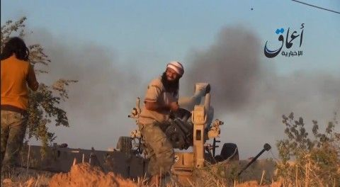 #WashingtonPostCheckpoint  ...... Video: Islamic State fighters appear to fire U.S.-made M198 Howitzer artillery.....  http://www.washingtonpost.com/news/checkpoint/wp/2014/08/27/video-islamic-state-fighters-appear-to-fire-u-s-made-m198-howitzer-artillery/