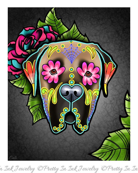 1000 images about sugar skulls on pinterest coloring for Day of the dead body jewelry