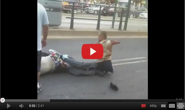 Guy Without Arms And Legs Fighting Thief in Canada ! This is amazing!