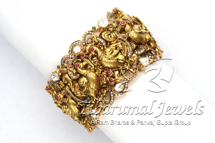 Nakshi Bangle | Tibarumal Jewels | Jewellers of Gems, Pearls, Diamonds, and Precious Stones