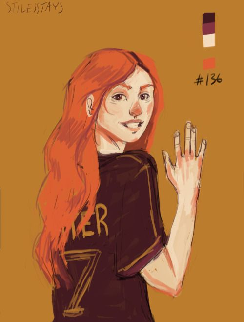 Posts about Ginny Weasley on Say Yes to Happy   Bonnie