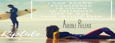 Audio Release - Riptide by Michelle Mankin    Title: Riptide  Series: Rock Stars Surf and Second Chances #2  By: Michelle Mankin  Publication Date: March 5 2018  Narrators:Kai Kennicott &Wen Ross  Genre: Contemporary Romance  #riptideaudiorelease  Rock star Ramon Martinez can have any woman he wants and he frequently does because he can't have her.  Karen Grayson.  Surfer girl.  My band mate's wife.  The one woman I can't have.  The one woman who could have my heart though I can never let…