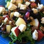 Salad with Heinz Apple Cider Vinegar Dressing