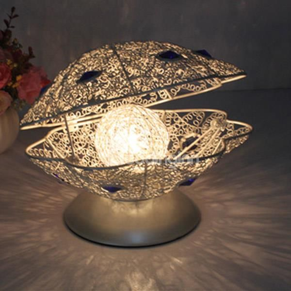 High Quality Creative Fashion Design Pearl Shape Home Decorative Table Lamp