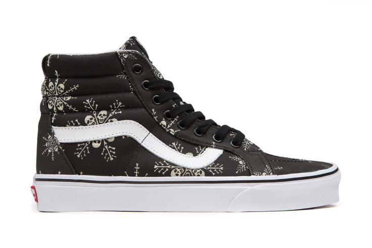 Vans Van Doren Sk8-Hi Reissue - Skull Snowflake/Black – Feature Sneaker Boutique