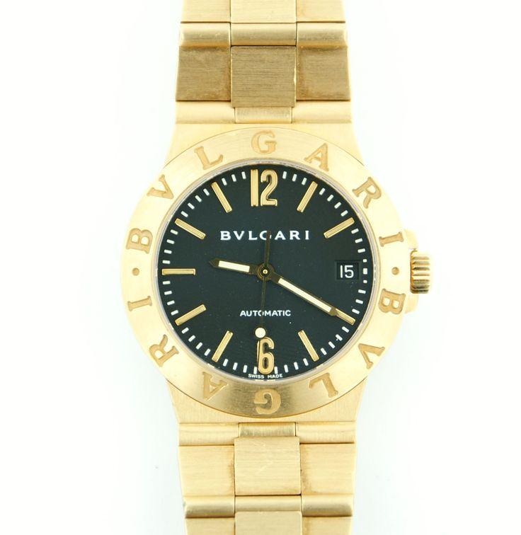 BVLGARI BULGARI 18kt Gold Man's Automatic Watch ...