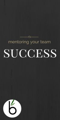 Team Mentoring is vital to the success of your salon!   Click here to learn tips for mentoring your team http://www.bambooconsulting.nz/blog/mentoring-your-team-for-success