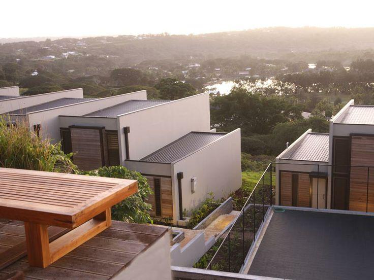 Resort exterior at The Terraces Boutique Apartments, Vanuatu  www.islandescapes.com.au