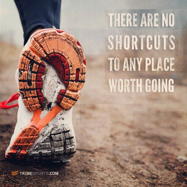 There are no shortcuts to any place worth going. #tribesports #runningram #running #run #workout #exercise #fitness #fit #instarun #inspiration #motivation #quote #follow #dailyexercise #improvement #effort #sports