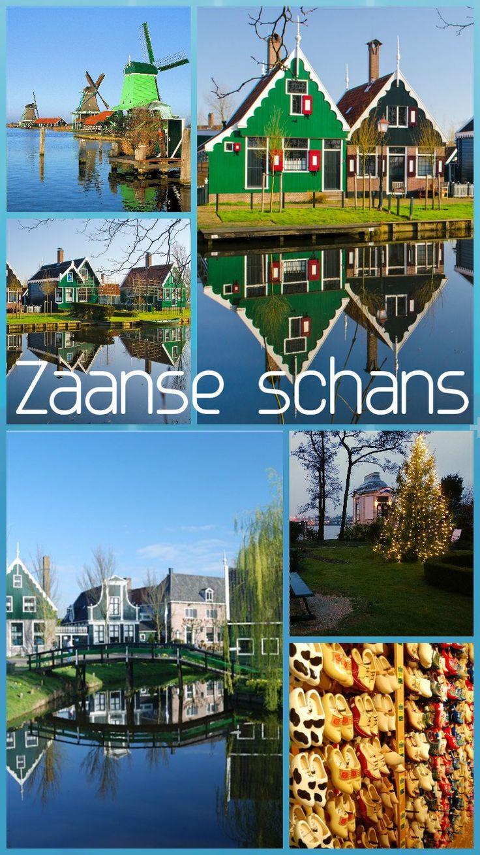 zaanse schans netherlands amsterdam windmills